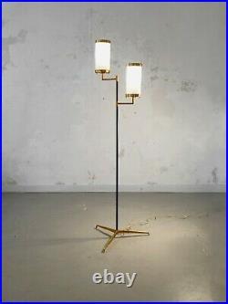 1950 Arredoluce Lampadaire Tripode Moderniste Stilnovo Arteluce