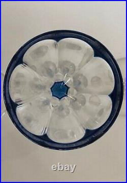6 Verres Vin Du Rhin Roemer Osram Val Saint Lambert Cotes Plates Art Deco
