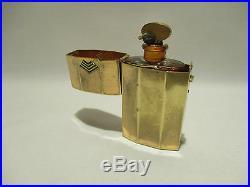 Ancien Flacon Et Son Etui Parfum Houbigant Bois Dormant 1925 Art Deco Perfume