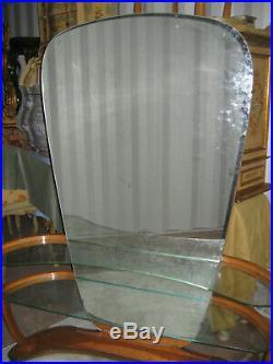 Ancienne Grande Coiffeuse 1930 Art Deco Grand Miroir