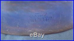 Applique de Art déco en pate de verre signé de Müller Frères Lunéville