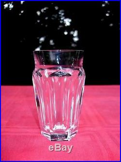 Baccarat Talleyrand 4 Wine Glasses 4 Gobelet A Vin Cristal Taillé Art Deco D