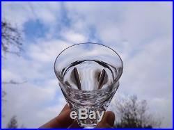 Baccarat Talleyrand 6 Wine Glasses 6 Gobelet A Vin Champagne Cristal Art Deco