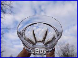 Baccarat Talleyrand 6 Wine Glasses Gobelet Verre A Vin Cristal Taillé Art Deco A