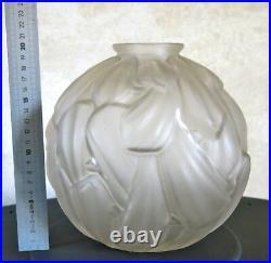 CARRILLO, très beau vase art déco signé carrillo, ART DECO