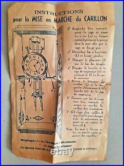 Carillon véritable ODO Sonodo Westminster 6 tiges 10 marteaux 2 airs
