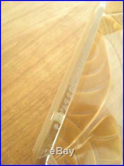 Daum Lorrain D'avesn Plaque De Lustre Applique Ou Lampe Art Déco Sabino (292)