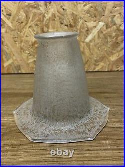 Daum Nancy Tulipe Art Déco Pour Lampe, Lustre Pate De Verre (1)