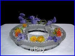 Lalique Centerpiece Centrotavola Crystal Chemin Centre De Table Cristal Art Deco