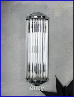 Lampe de Mur Bauhaus Art Déco Murale Éclairage Cinéma en Verre Kinolampe