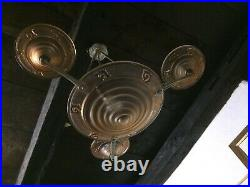 Lustre suspension Art Déco Maurice Model à Verdun Epoque 1930