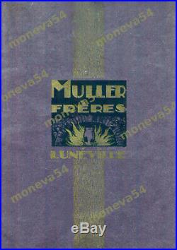 Muller Freres Lampe Boule Art Déco En Fer Forgé Et Obus En Pte De Verre 1930