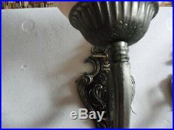 Pair de lampe de table art deco art nouveau lampe. Sconce wall lam art deco