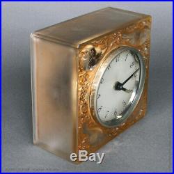 Pendule 4 moineaux de R. Lalique