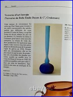 Rare Lampe Champignon Pate De Verre / Fer Forge Art Deco Lorrain Daum Nancy 1920
