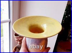Tres Rare Et Superbe Vase En Pate De Verre De Schneider Art Deco