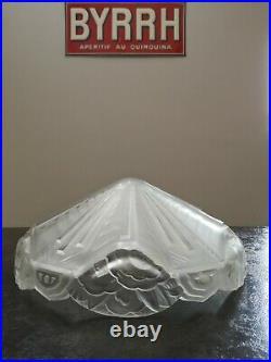 Vasque ancienne forme peu commune Art déco 1920 /1930 TBE Ø 34.5 cm comme neuve